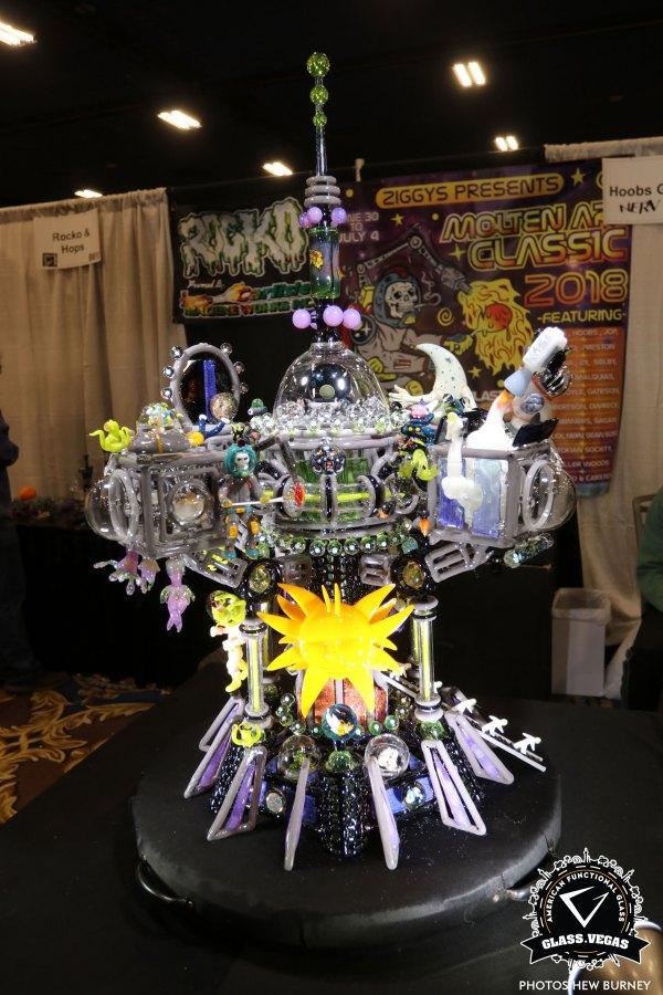 Glass Vegas Expo American Functional Art Trade Show