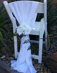 chair cover hire mornington peninsula comfy patio chairs covers wedding events geelong melbourne chiffon white shawl