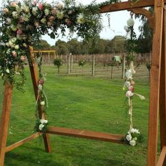 Swing Chair Hire Fishing Lazada Wedding Flower Melbourne With Flowers