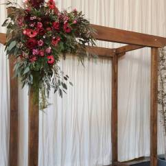Chair Covers Wedding Costs Retro Dining Room Table And Chairs Wooden Arches, Arbours- Melbourne & Event Hire