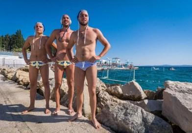 LJETNE RADOSTI Zgodni vaterpolisti u kupaćim gaćicama
