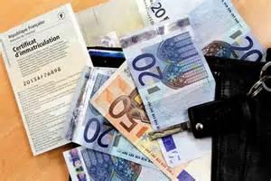 taxes carte grise