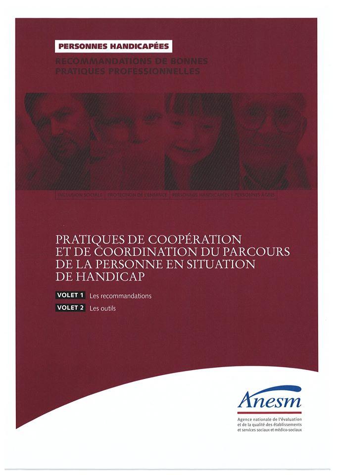 L'ANESM publie ses recommandations à propos du parcours de la personne en situation de handicap