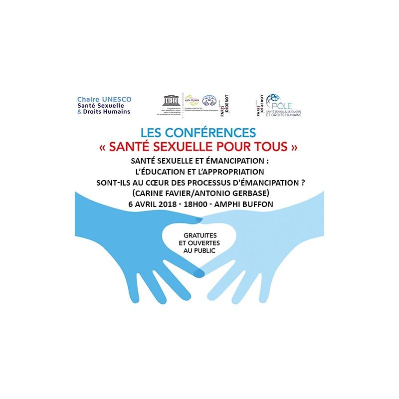 Les conférences gratuites de la Chaire UNESCO Santé Sexuelle et Droits Humains