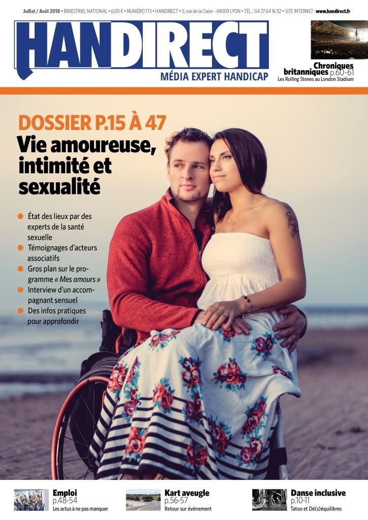 Handirect : Vie amoureuse et handicap, intimité et sexualité