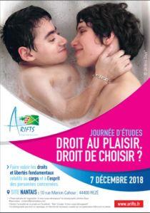 Journée d'étude : droit au plaisir, droit de choisir ? @ Nantes