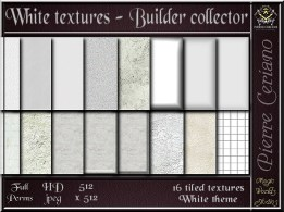 White textures - Builder collector
