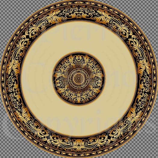 Ceiling rosette 1R s