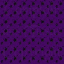 Woven ghosts - Black on purple s