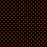 Woven orange on black s