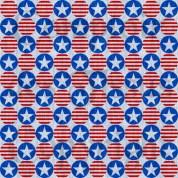 Patriotic fabric 2 Linen s