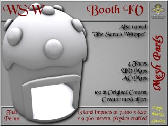 WSW Booth IV - 13 LI - FULL PERMS Mesh