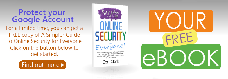 A free copy of A Simpler Guide to Online Security for Everyone for subscribers!