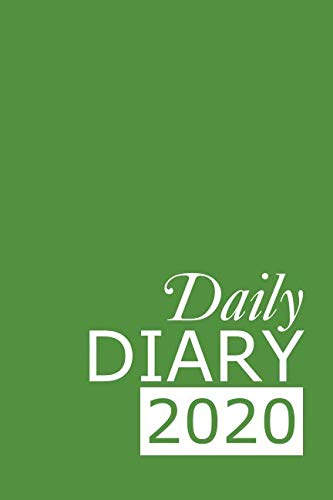 Daily Diary 2020: Green 365 Day Tabbed Journal January – December (Clark Diaries & Journals)