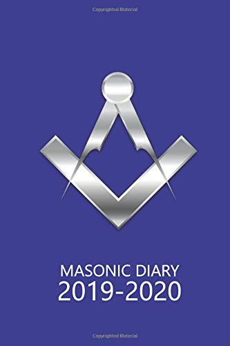Masonic Diary 2019-2020: The Dark Blue Freemason Diary for 2019-2020, Week to View (September to August) Planner (4×6 inch) (Clark Masonic Diaries)