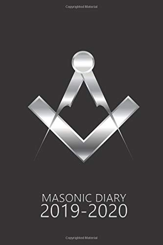 Masonic Diary 2019-2020: The Black Freemason Diary for 2019-2020, Week to View (September to August) Planner (4×6 inch) (Clark Masonic Diaries)
