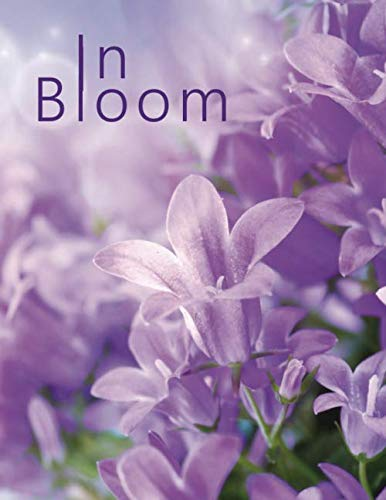 In Bloom: Large print password book with phone numbers, birthdays and other information to keep everything in one place | Flower Design 8.5 x 11 Inches (Quill Large Print Contacts & Password Books)