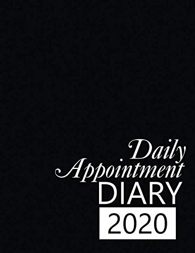Daily Appointment Diary 2020: 365 Day Tabbed Planner January – December | 8.5 x 11 inches (Quill Planners)