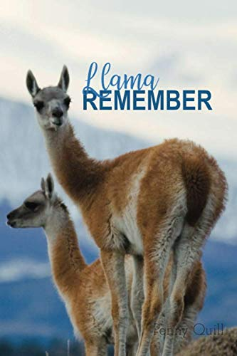 Llama Remember: A Disguised Password Book With Tabs to Protect Your Usernames, Passwords and Other Internet Login Information | Llama Design 6 x 9 inches (Quill Password Books)