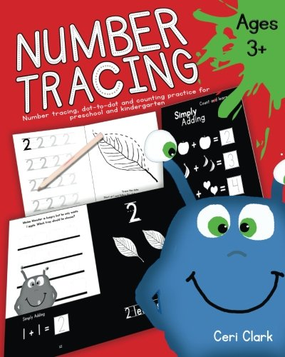 Number Tracing: Number tracing, dot-to-dot and counting practice for preschool and kindergarten