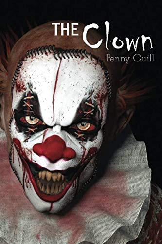 The Clown: A Disguised Password Book With Tabs to Protect Your Usernames, Passwords and Other Internet Login Information | Horror Clown Design 6 x 9 inches (Quill Password Books)