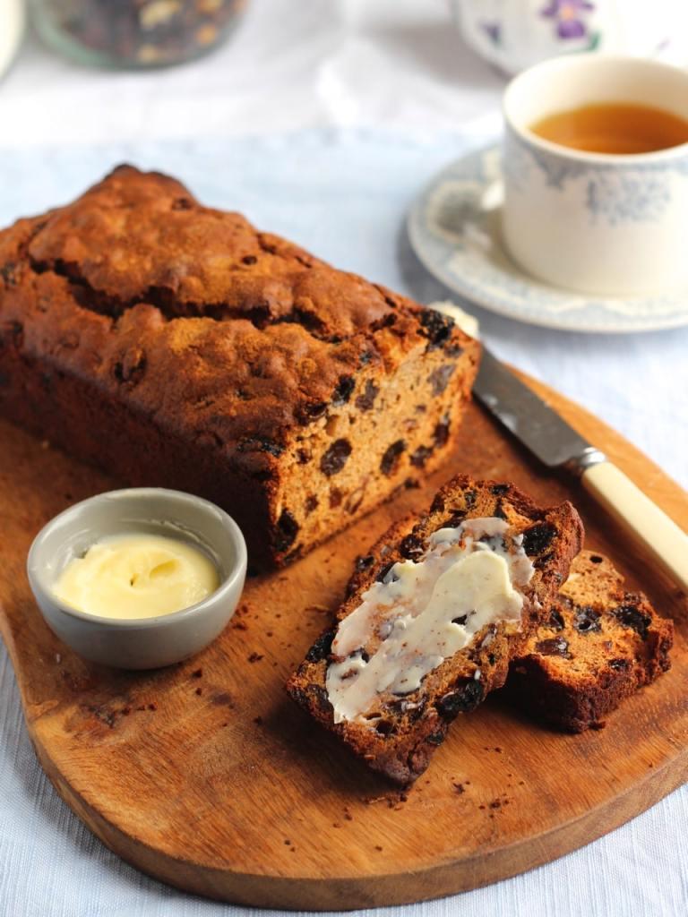 Gluten Free Bara Brith, a Welsh tea loaf by Natural Kitchen Adventures