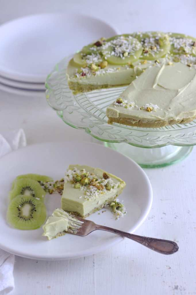 Lime Avocado Cheesecake | Raw, vegan, gluten free, dairy free | Natural Kitchen Adventures