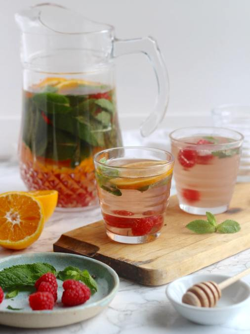 Iced Berry Tea Cooler