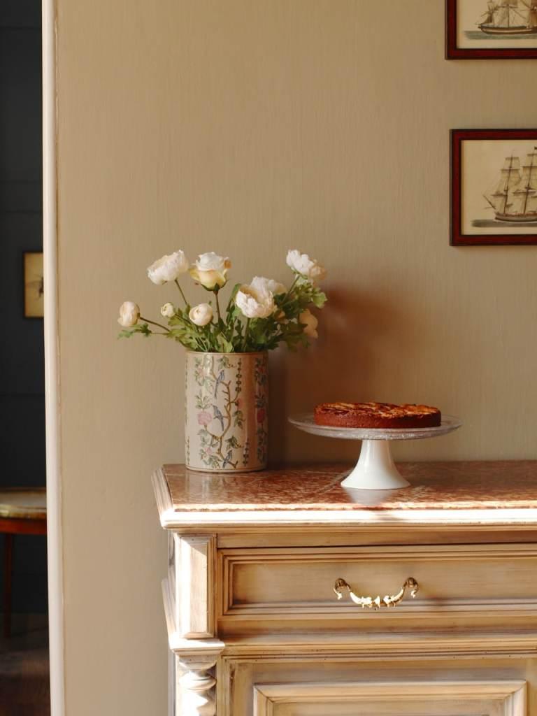 Plum Almond Honey Torte | Gluten Free Cake | Natural Kitchen Adventures