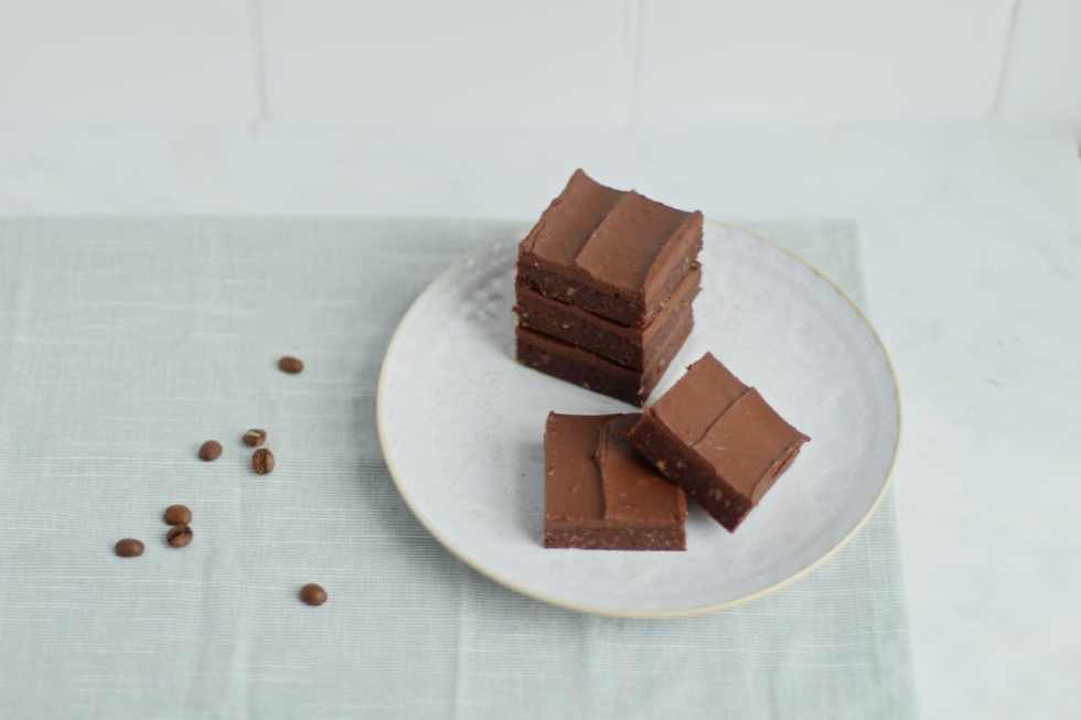 Cacao Espresso No Bake Brownies   Natural Kitchen Adventures   Vegan, gluten free, dairy free, raw