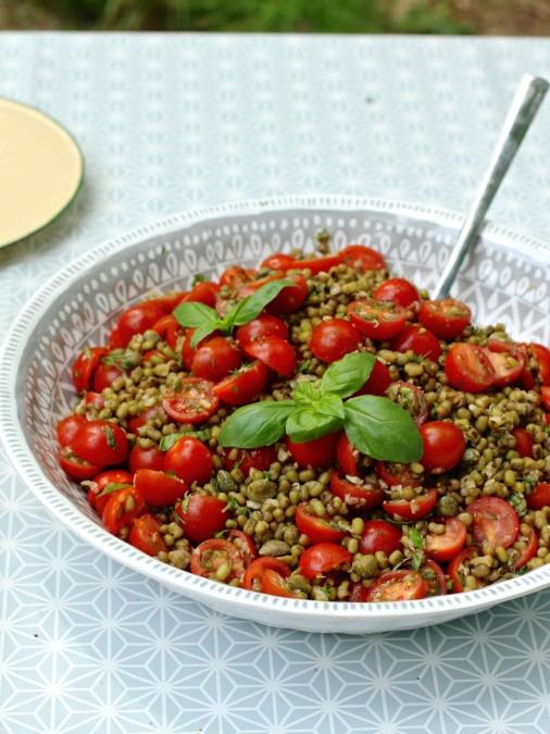 Cherry Tomato & Mung Bean Salad