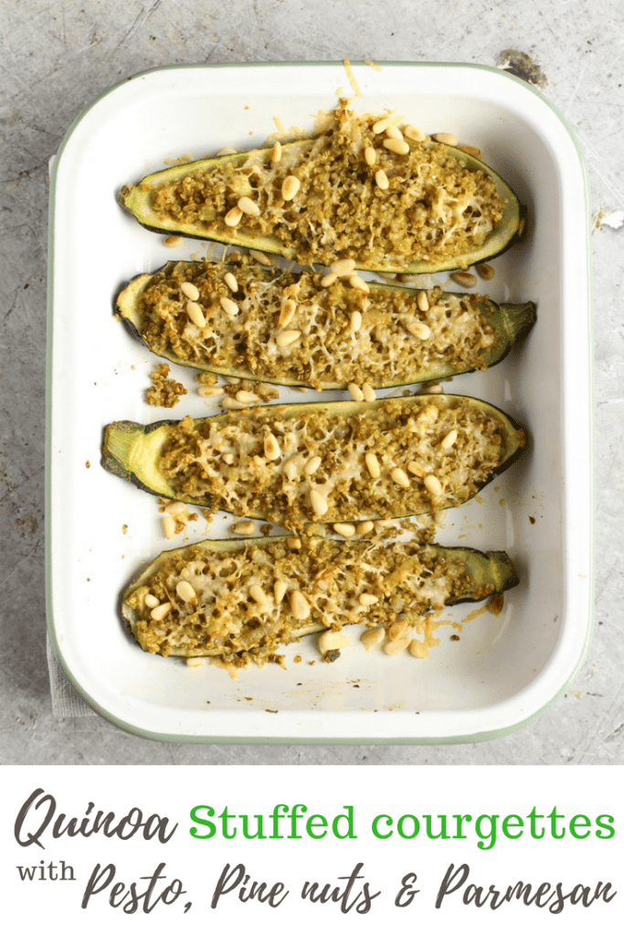 quinoa stuffed courgettes | Natural Kitchen Adventures