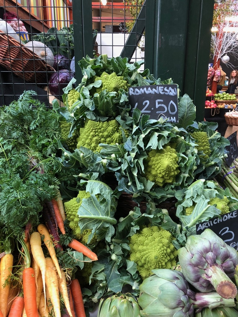 Romanesco at Borough Market | Natural Kitchen Adventures