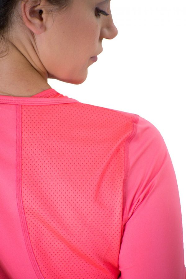 Cerinic Wanderlust Wicking Long Sleeve shirt in Coral Cerinic-Activewear for the adventurer sustaining an empowered life