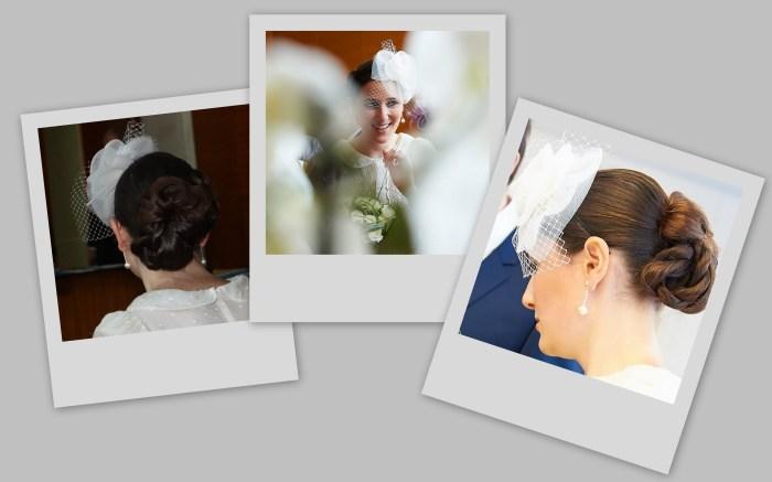 photo coiffure mariage civil