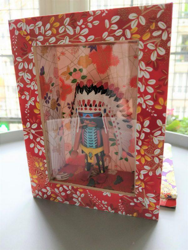 cadre decoration playmobil indien