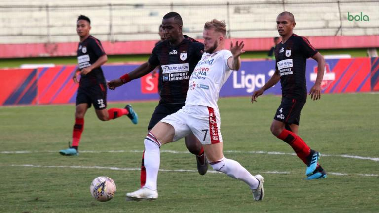Hasil Pertandingan Persipura Jayapura vs Bali United: Skor 2-2
