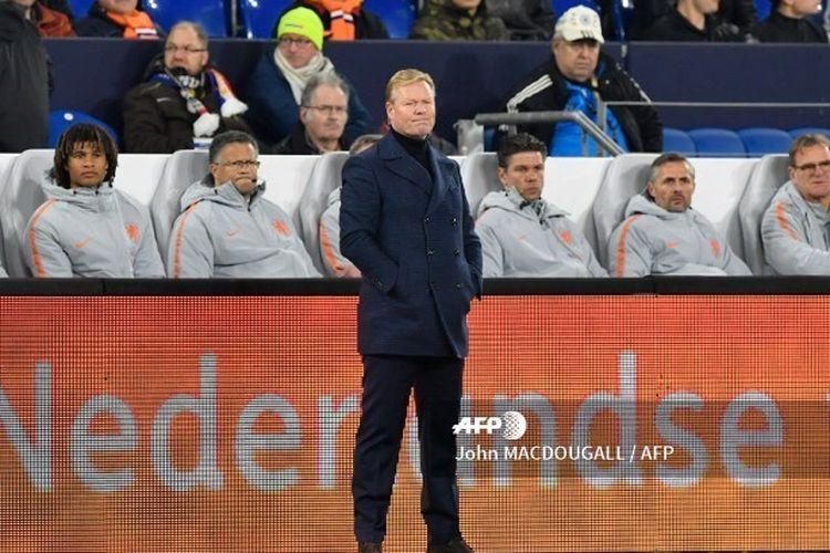 Ronald Koeman siap Untuk Gantikan Ernesto Valverde sebagai Pelatih Barcelona