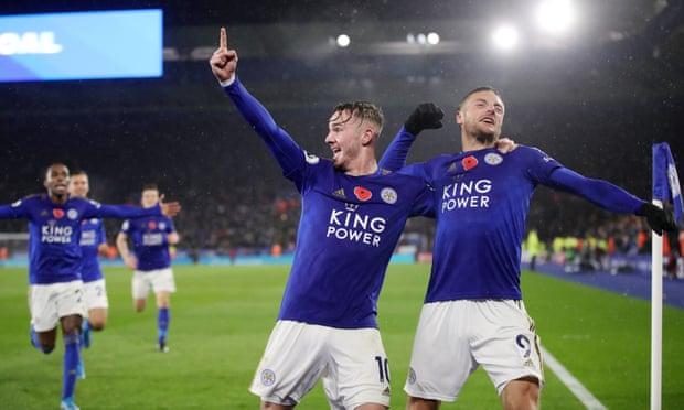 Hasil Pertandingan Leicester City vs Arsenal: 2-0