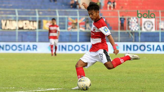 Pemain Muda Madura United Berambisi untuk Menang