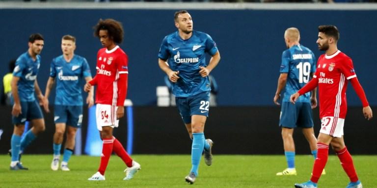 Prediksi Benfica vs Zenit 11 Desember 2019