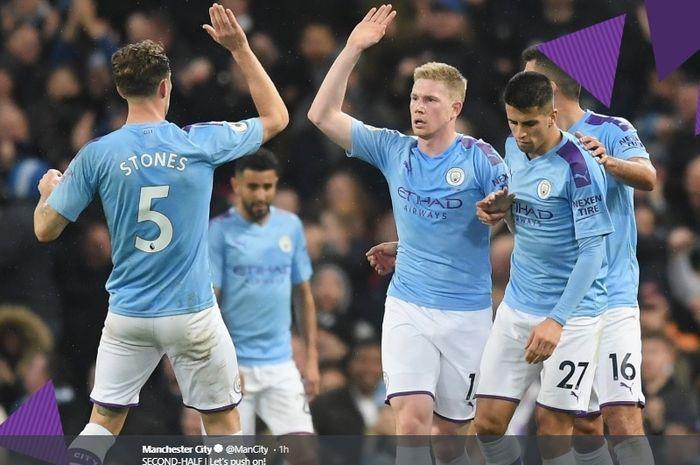 Hasil Pertandingan Burnley vs Manchester City: Skor 1-4