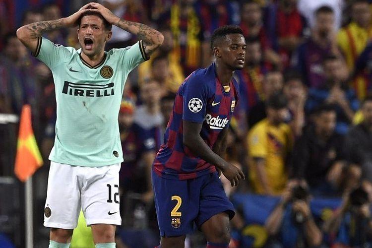 Hasil Pertandingan Inter Milan vs Barcelona: Skor 1-2