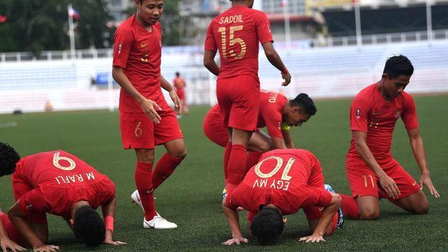 Timnas Indonesia U-22 Siap Asah Kemampuan Penalti untuk Semifinal SEA Games 2019
