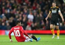Manchester United Kehilangan Marcus Rashford Selama Enam Pekan