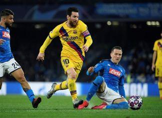 Napoli vs Barcelona Liga Champions