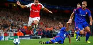 Olympiakos vs Arsenal Liga Eropa