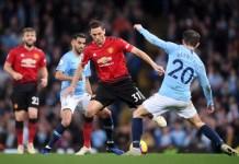 Manchester United vs Manchester City Liga Inggris