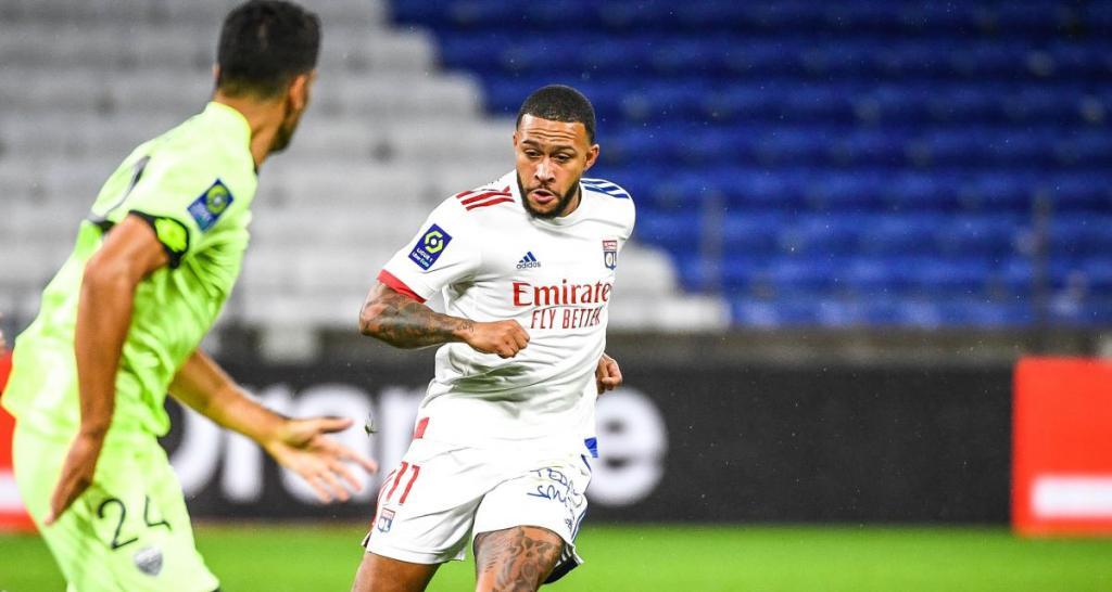 Hattrick Memphis Barcelona Setuju dengan Klausul Pelepasan Memphis Depay Membantu Lyon Menang Telak di Pekan Perdana Ligue 1