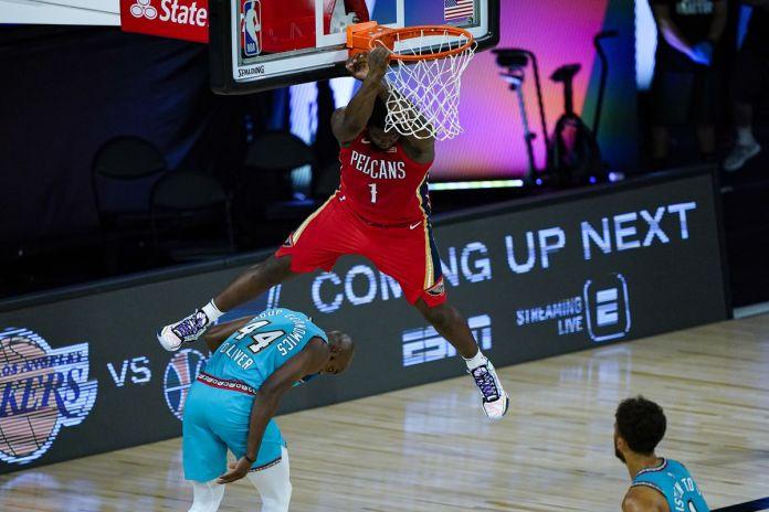 Zion Williamson Bawa Pelicans Langkahi Memphis